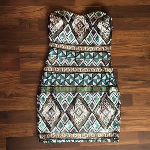 Body Central Sequin Dress